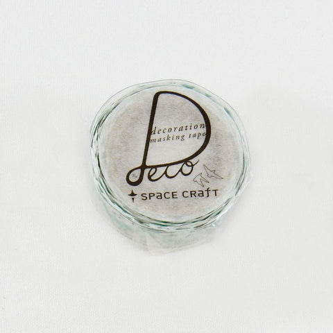 Round Top x Space Craft Washi Tape Best View Of The World (SC-MK-006) | Washi Wednesday