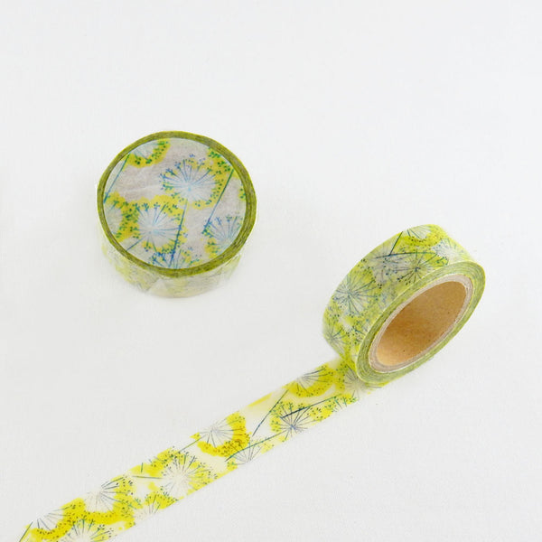 Round Top x ChamilGarden Fennel Washi Tape (MTW-CH054) | Washi Wednesday