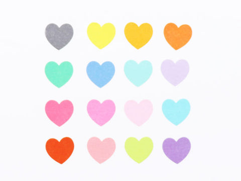 Bande Heart Trois Washi Roll Sticker