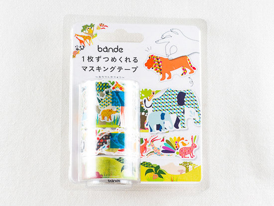 Bande Wild Life Washi Roll Sticker (BDA222) | Washi Wednesday