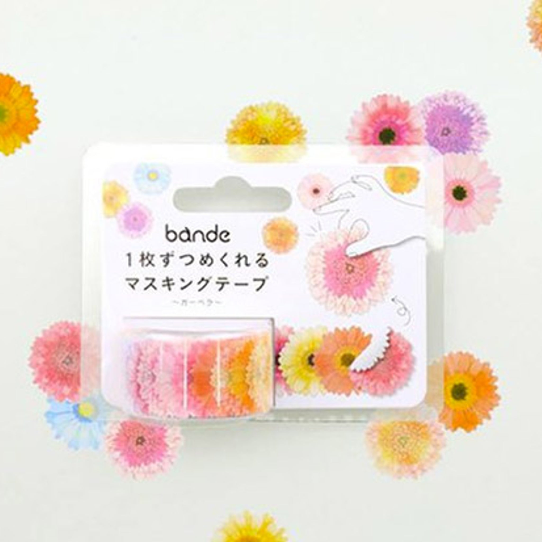 Bande Garbera Washi Roll Sticker