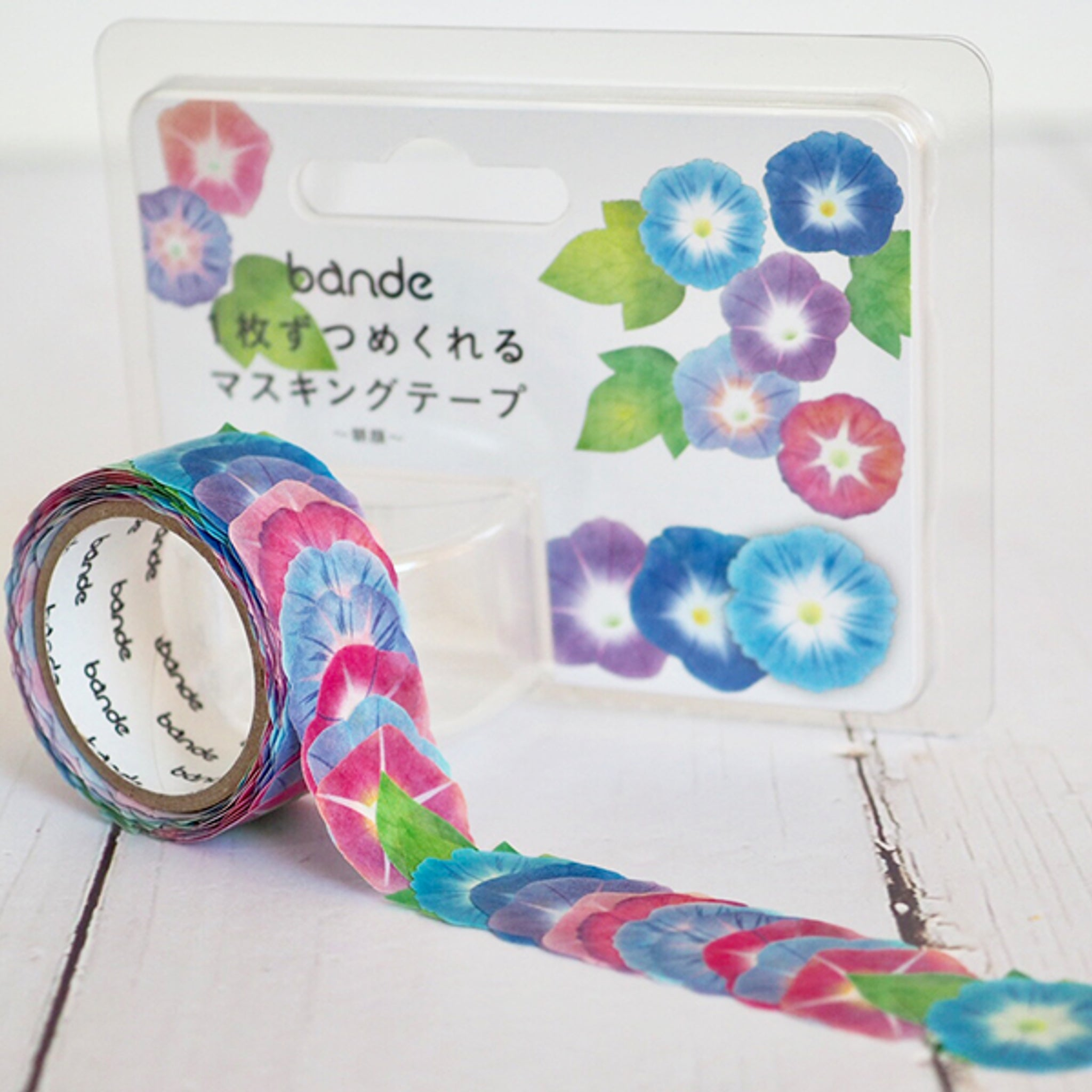 Bande Morning Glory Washi Roll Sticker (Limited Edition)