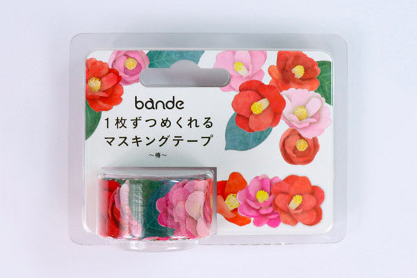 Bande Camelia Washi Roll Sticker