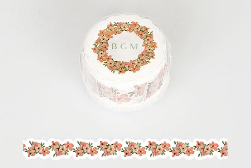 BGM Bouquet Of Red Washi Tape (BM-DF003)