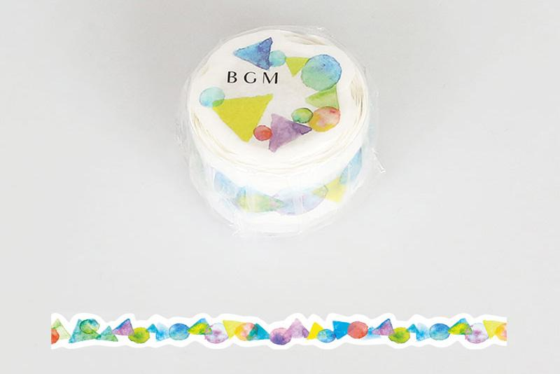 BGM Rainbow-Colored Sweets Washi Tape (BM-DR008)