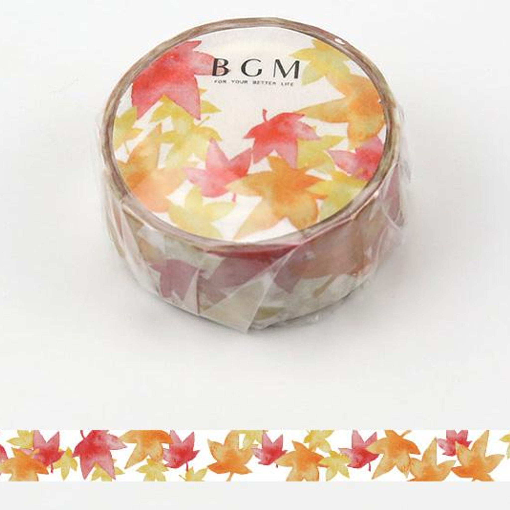 BGM Autumn Leaves Washi Tape