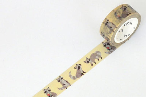 BGM Raccoon Washi Tape (BM-LA025)