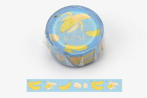 BGM Banana Washi Tape (BM-LA033)
