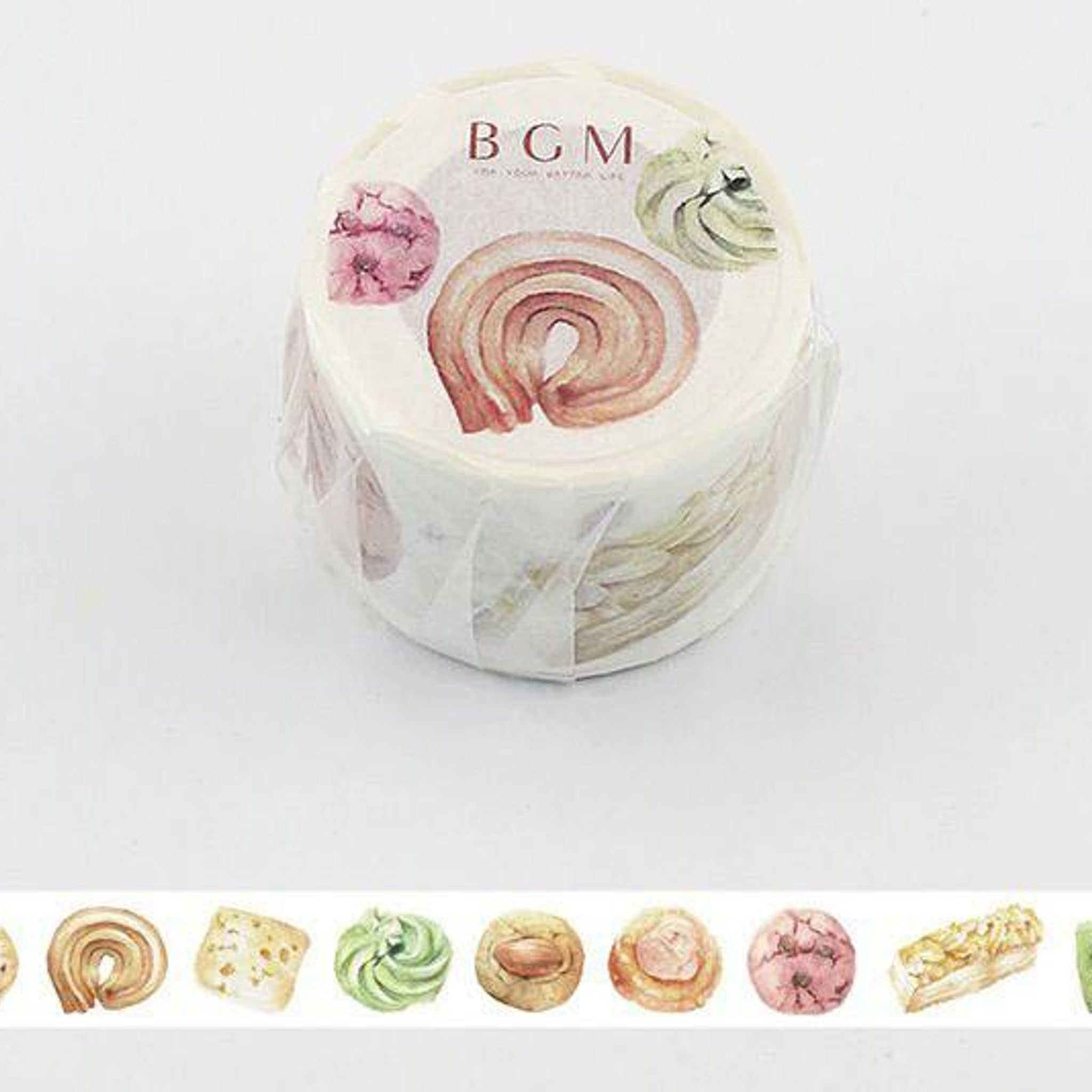 BGM Cookie Washi Tape