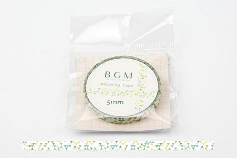 BGM Triangle Pattern Washi Tape (BM-LS006)