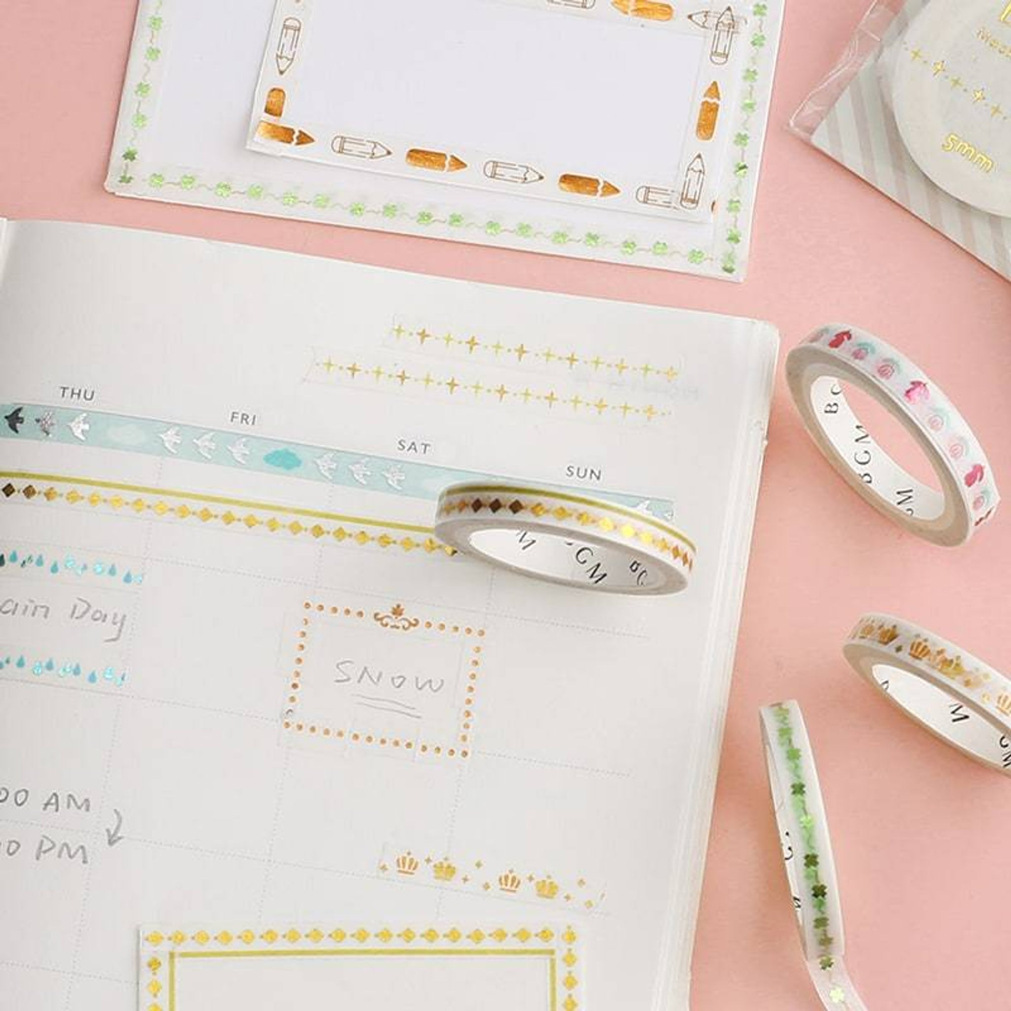 BGM Crown Washi Tape