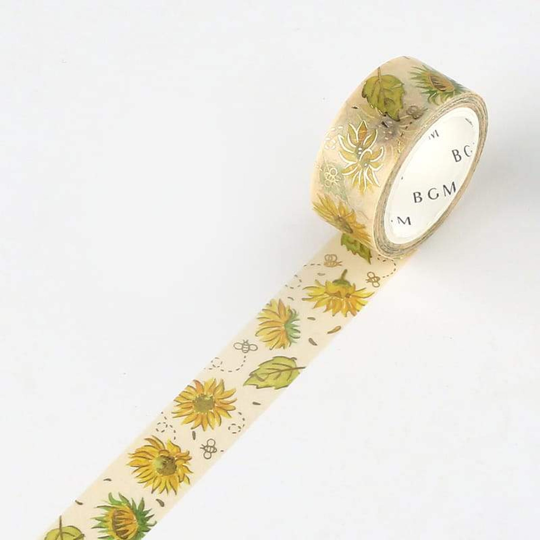 BGM Summer Sunflower Washi Tape