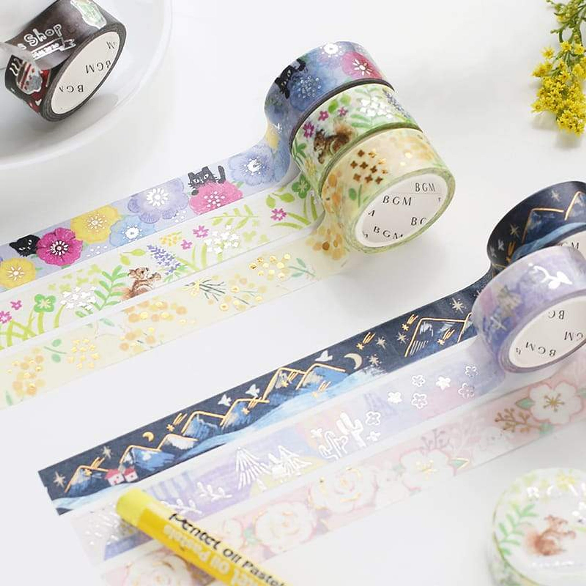 BGM Phantom Forest Washi Tape