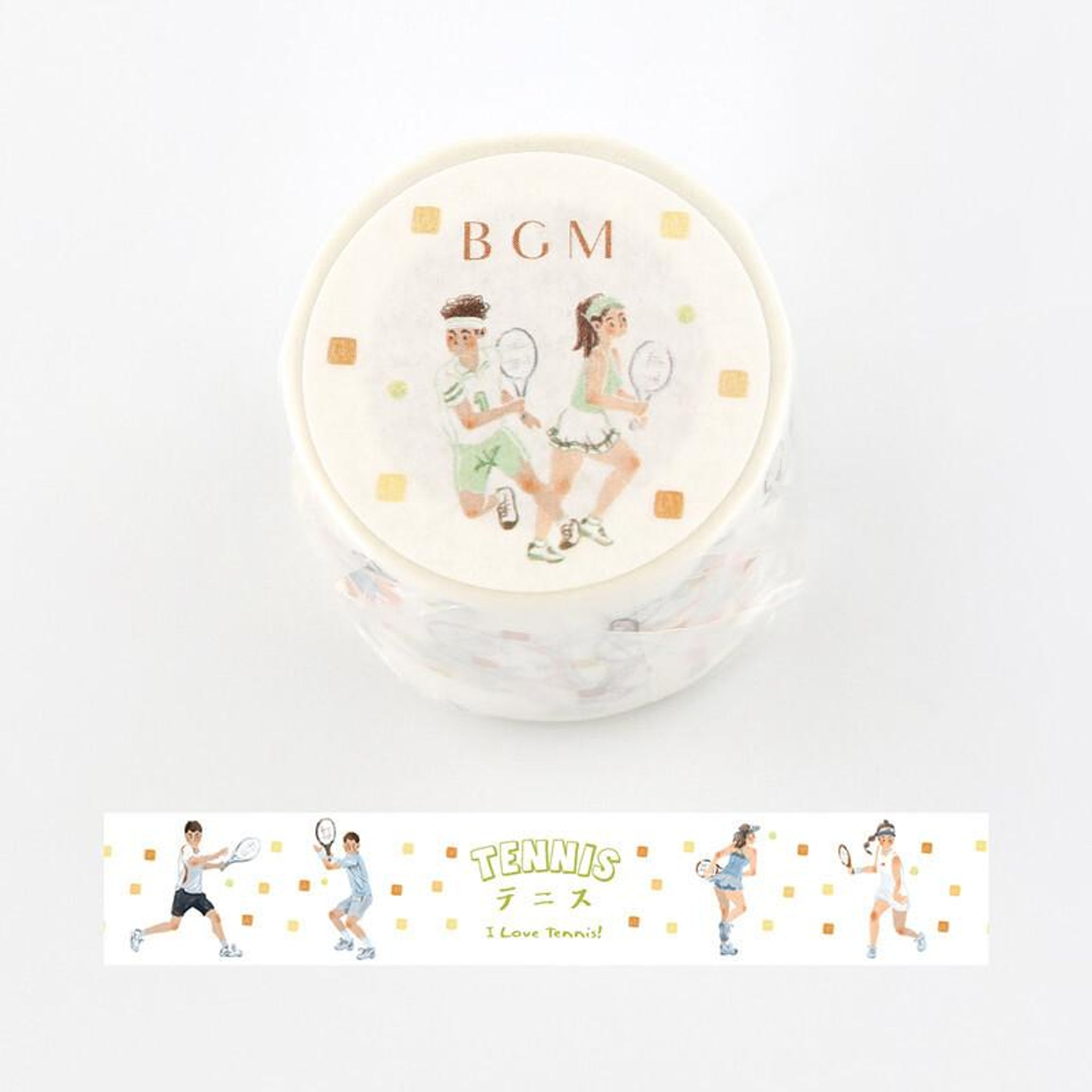 BGM Tennis Washi Tape