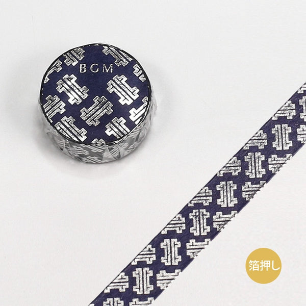 BGM Patterns Washi Tape