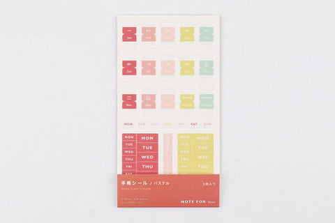 BGM Pastel Note Sticker