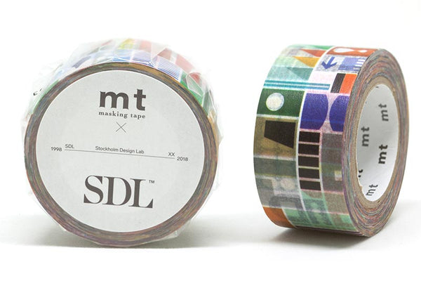 mt x SDL Remixed Shapes Washi Tape