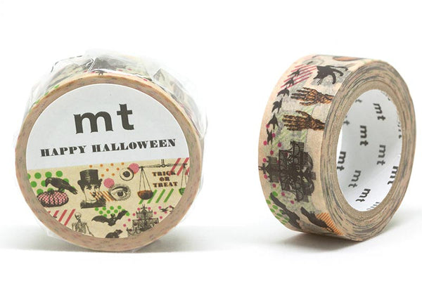 mt Halloween 2018 Retro Vintage washi tape