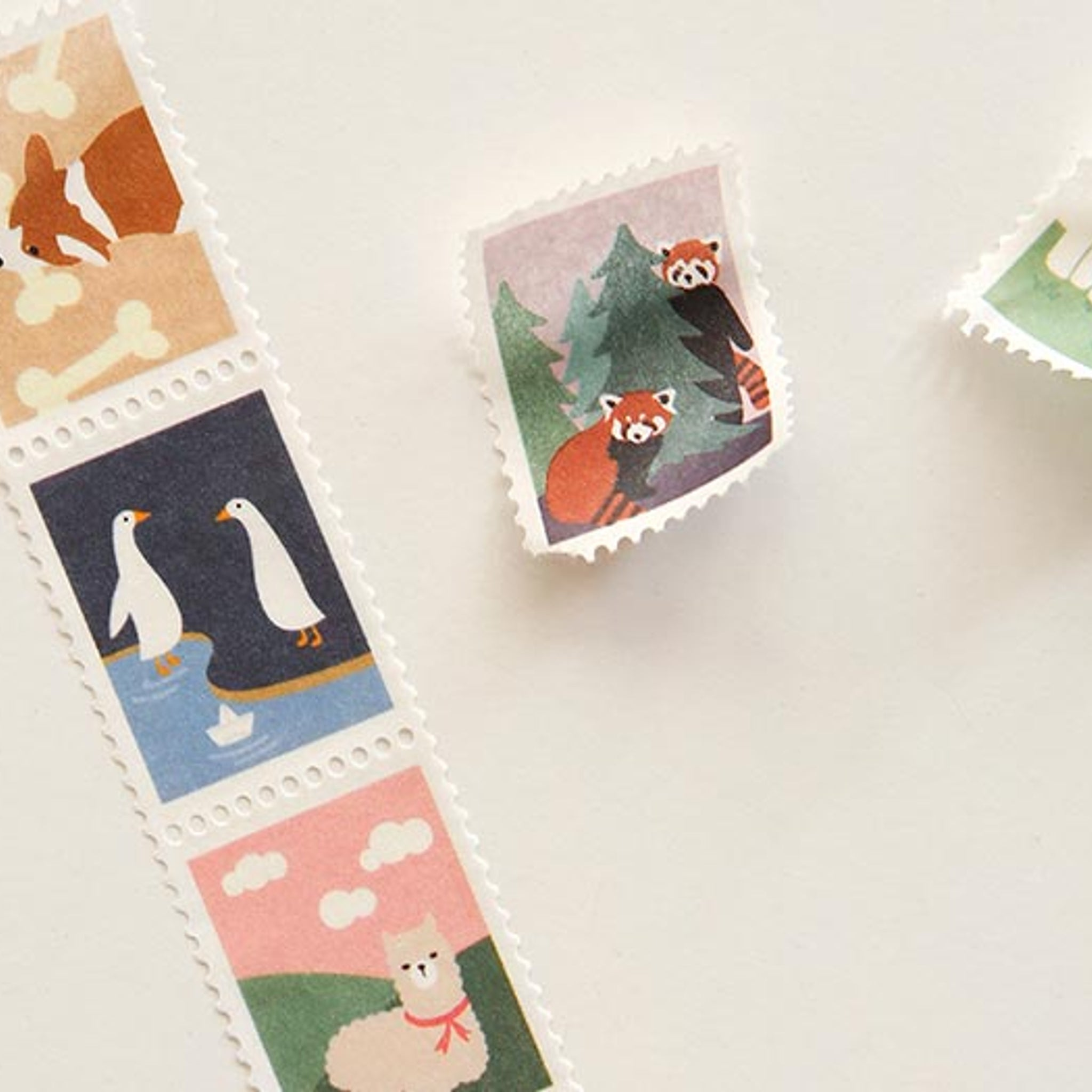Dailylike Animal2 Stamp Masking Tape