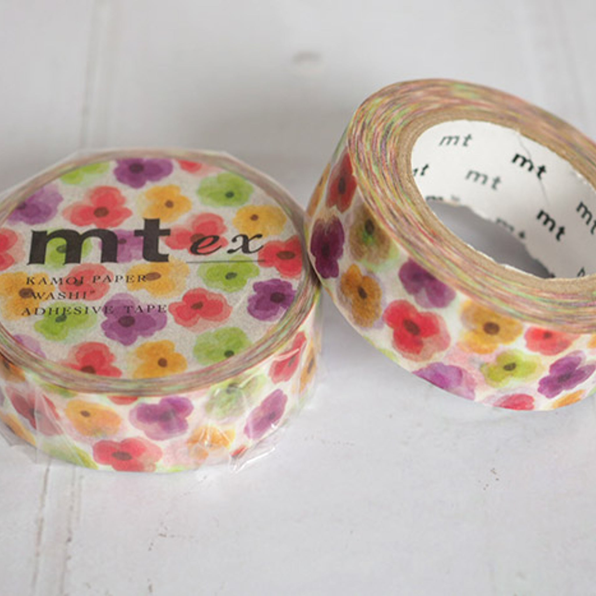 MT EX Washi Tape Pansy
