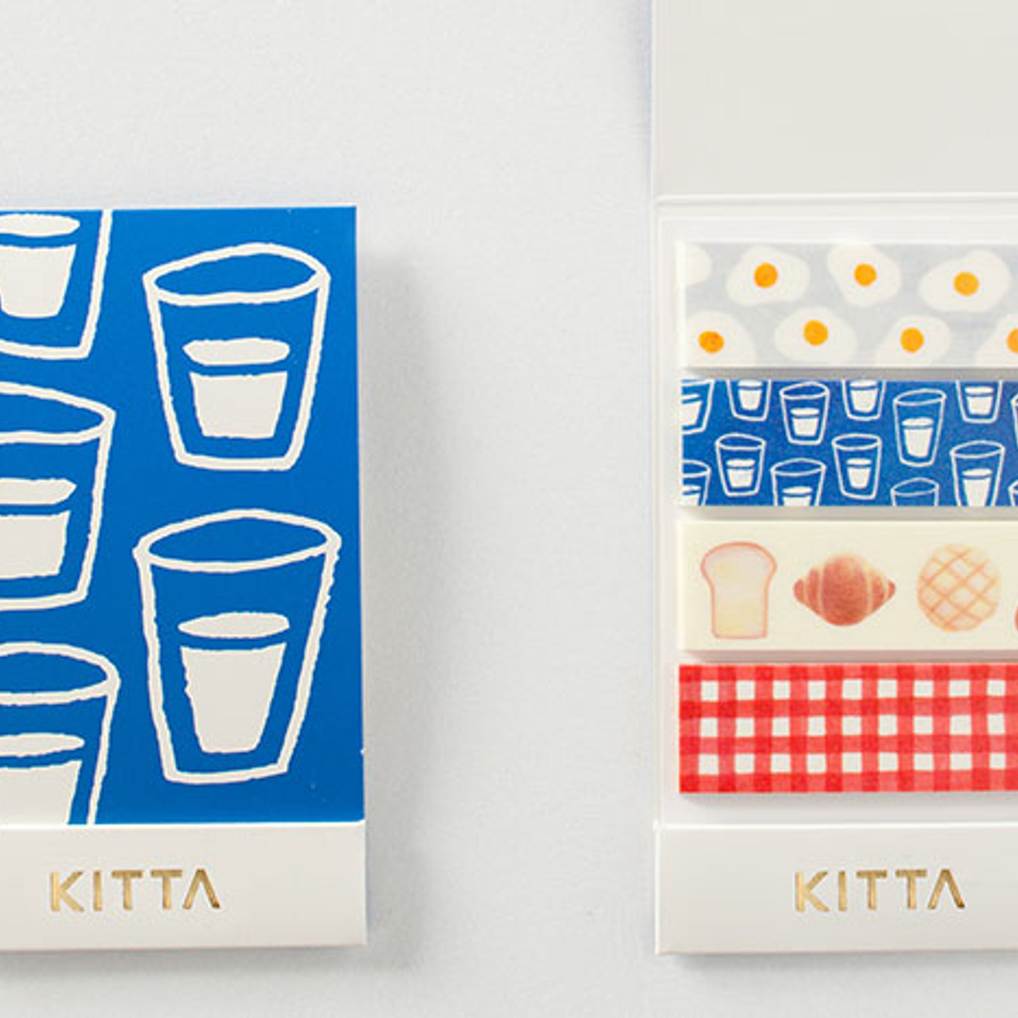 KITTA Washi Tape Breakfast