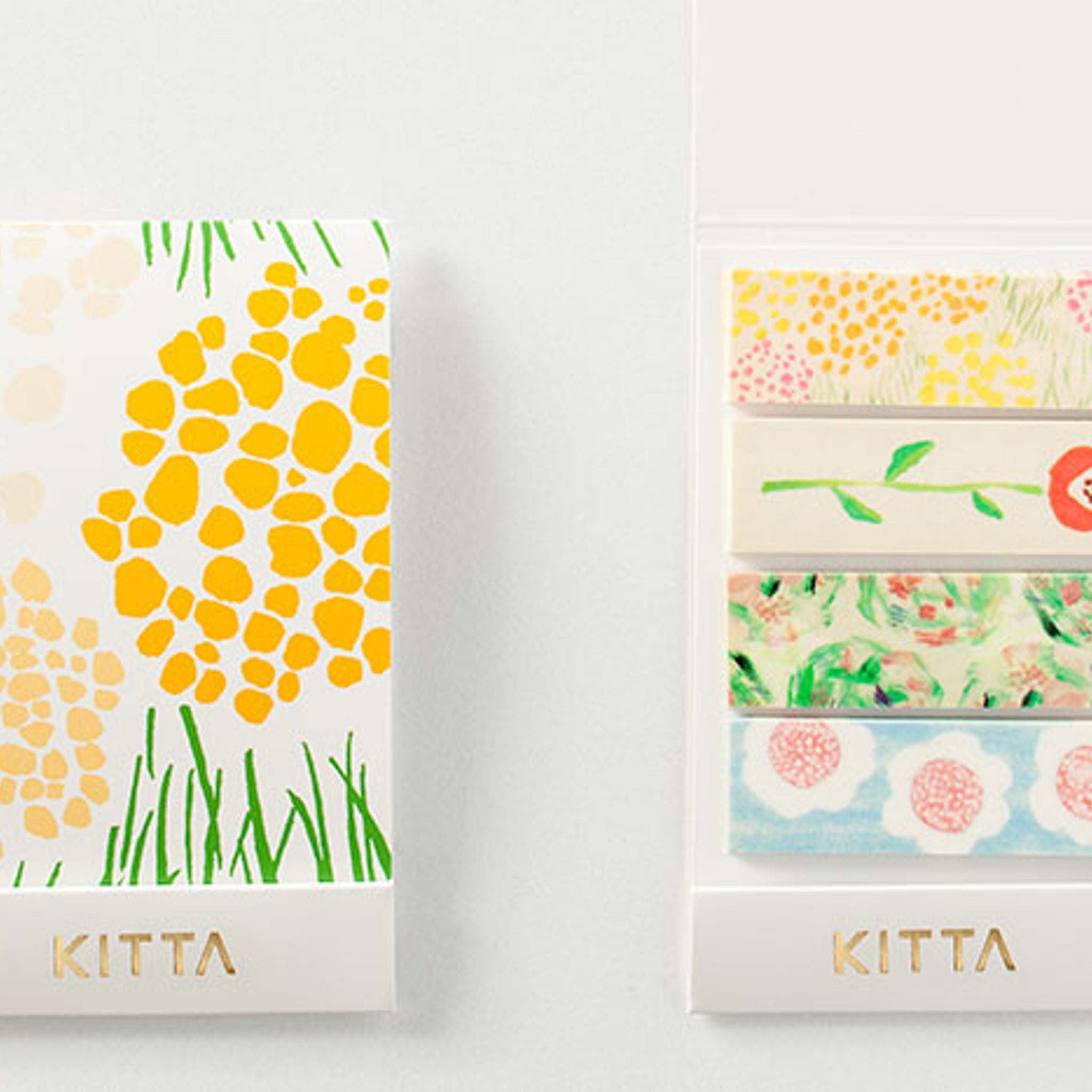 KITTA Washi Tape Flower 2