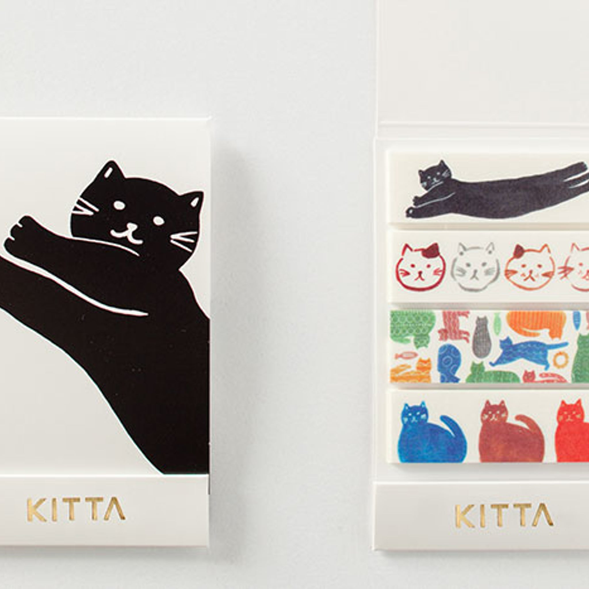 KITTA Washi Tape Cat