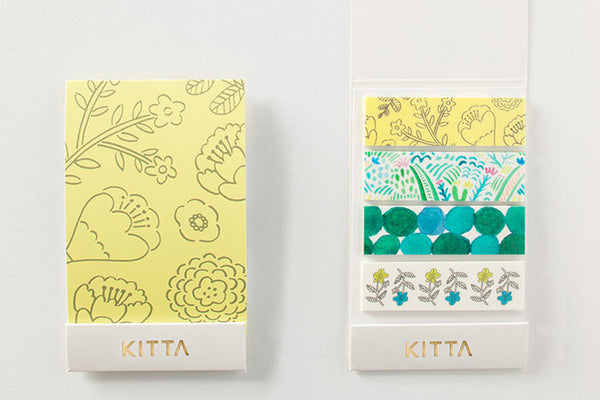KITTA Washi Tape Plants