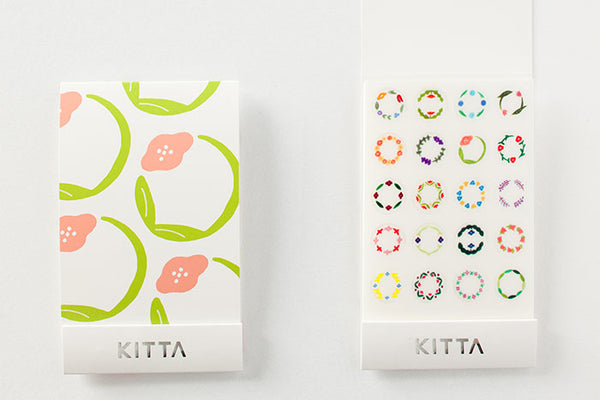 KITTA Seal Circle Flower