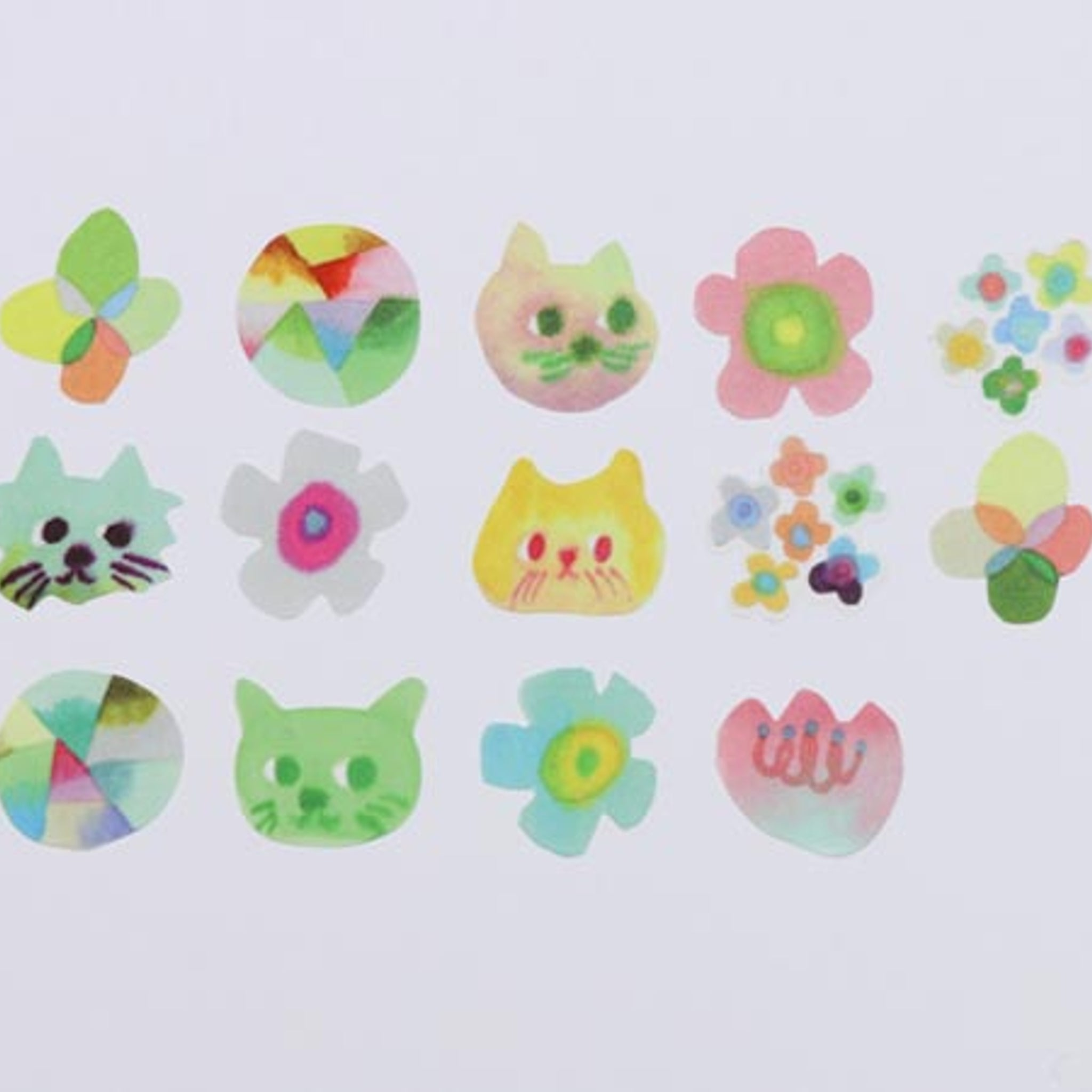 Bande Cat's ISSUE Original Washi Roll Sticker