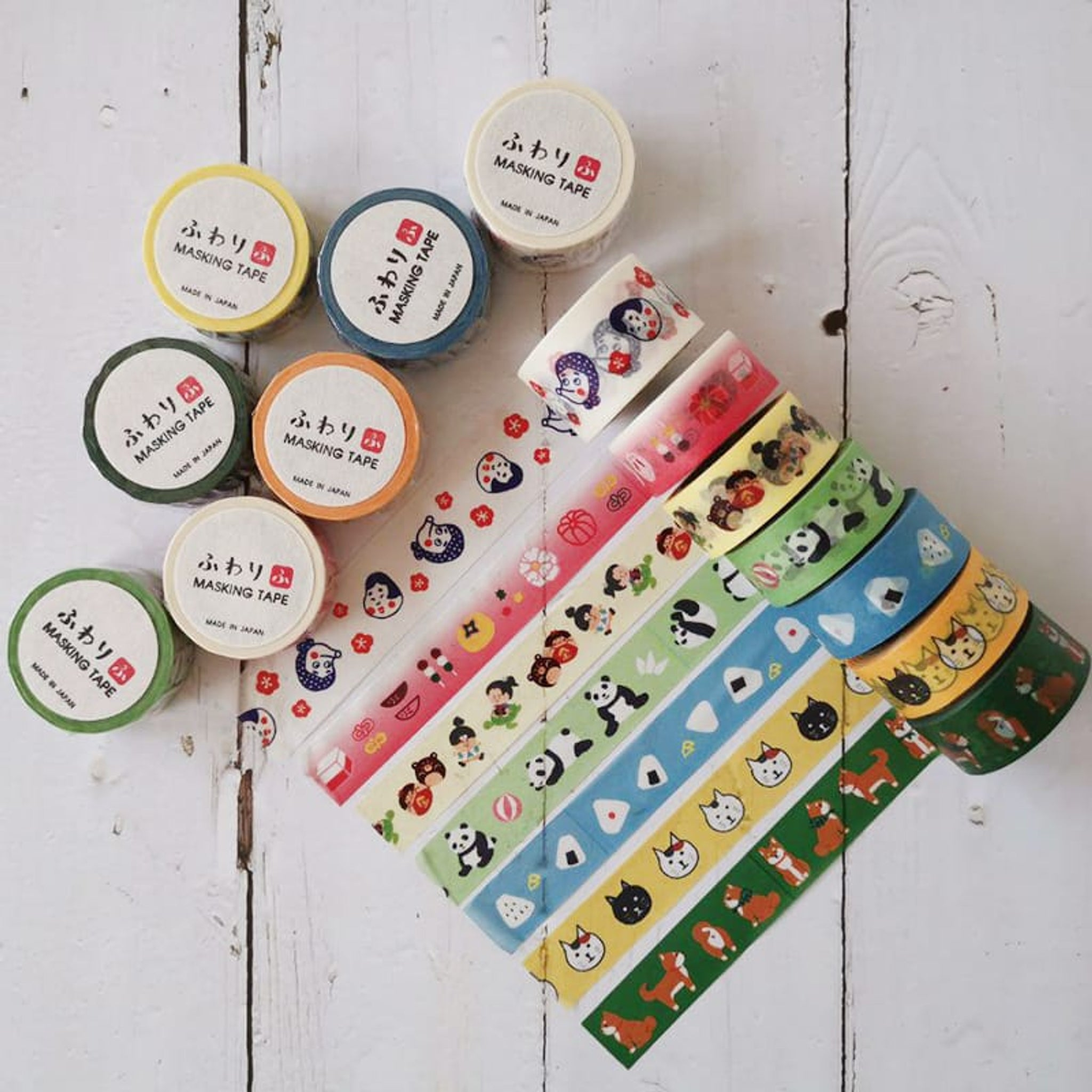 Iyowashi Fuwari Washi Tape Japanese confectionery