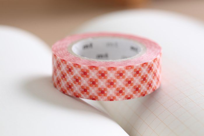 mt Dim Dot Fire washi tape (MT01D281) | Washi Wednesday
