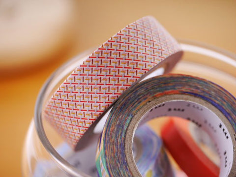 mt Hasen Red washi tape