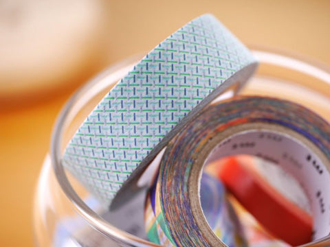 mt Hasen Green washi tape
