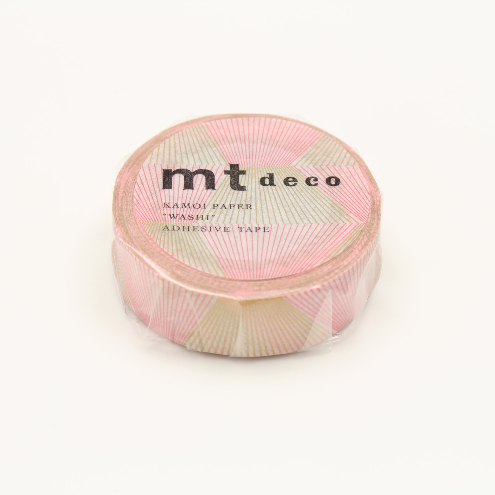 (DC) MT Deco Washi Tape Line Gradation Gold