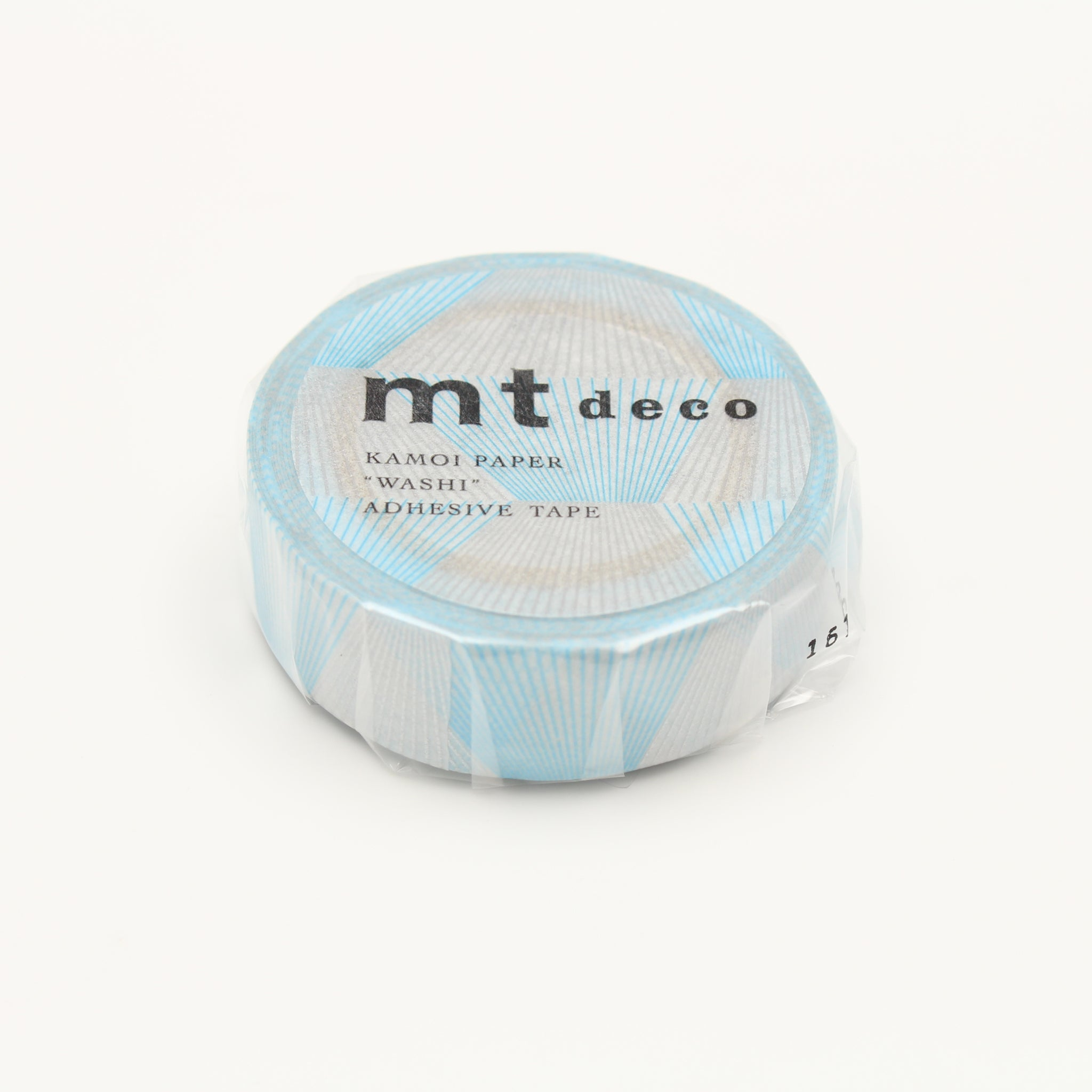 MT Deco Washi Tape Line Gradation Silver