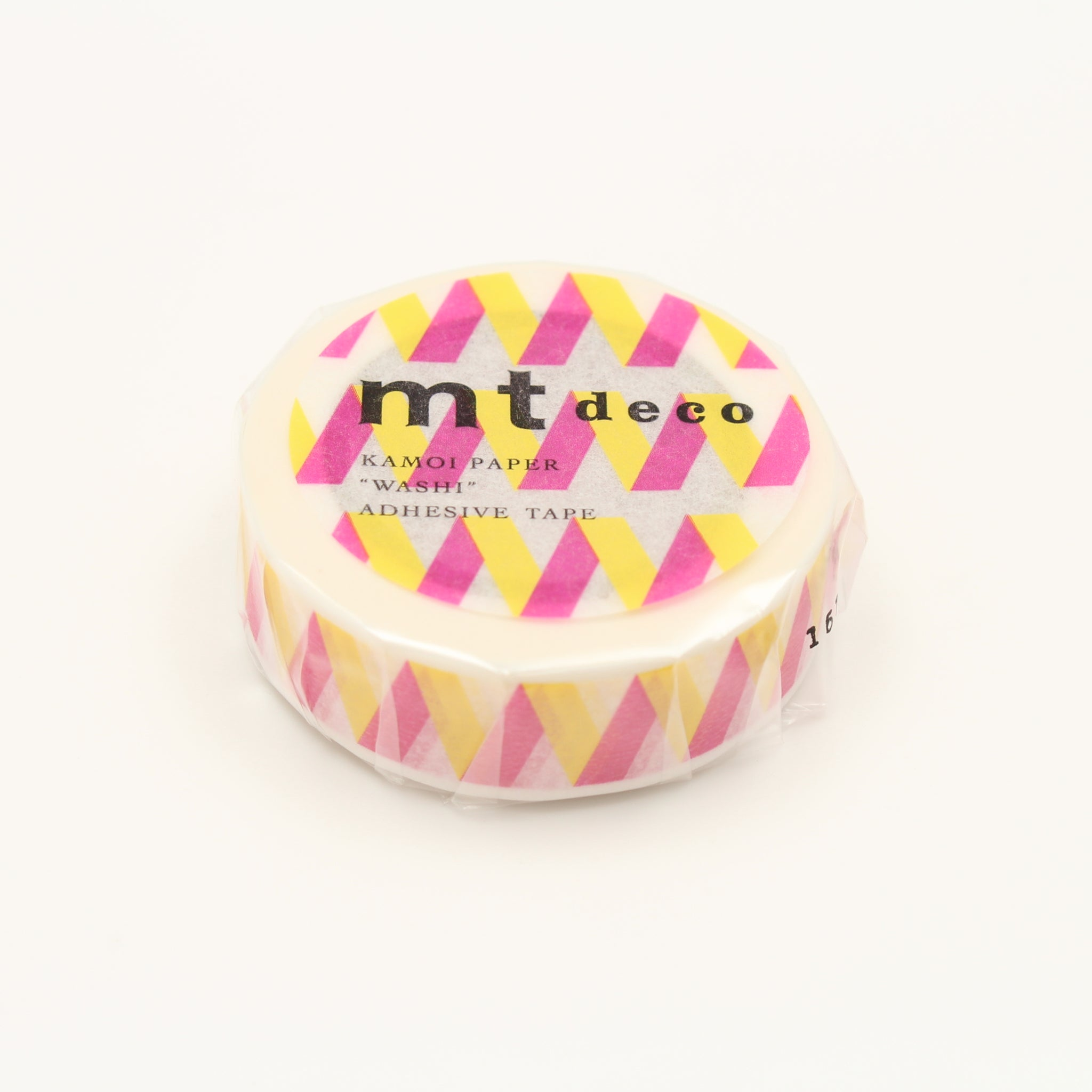 (DC) MT Deco Washi Tape Rickrack Yellow
