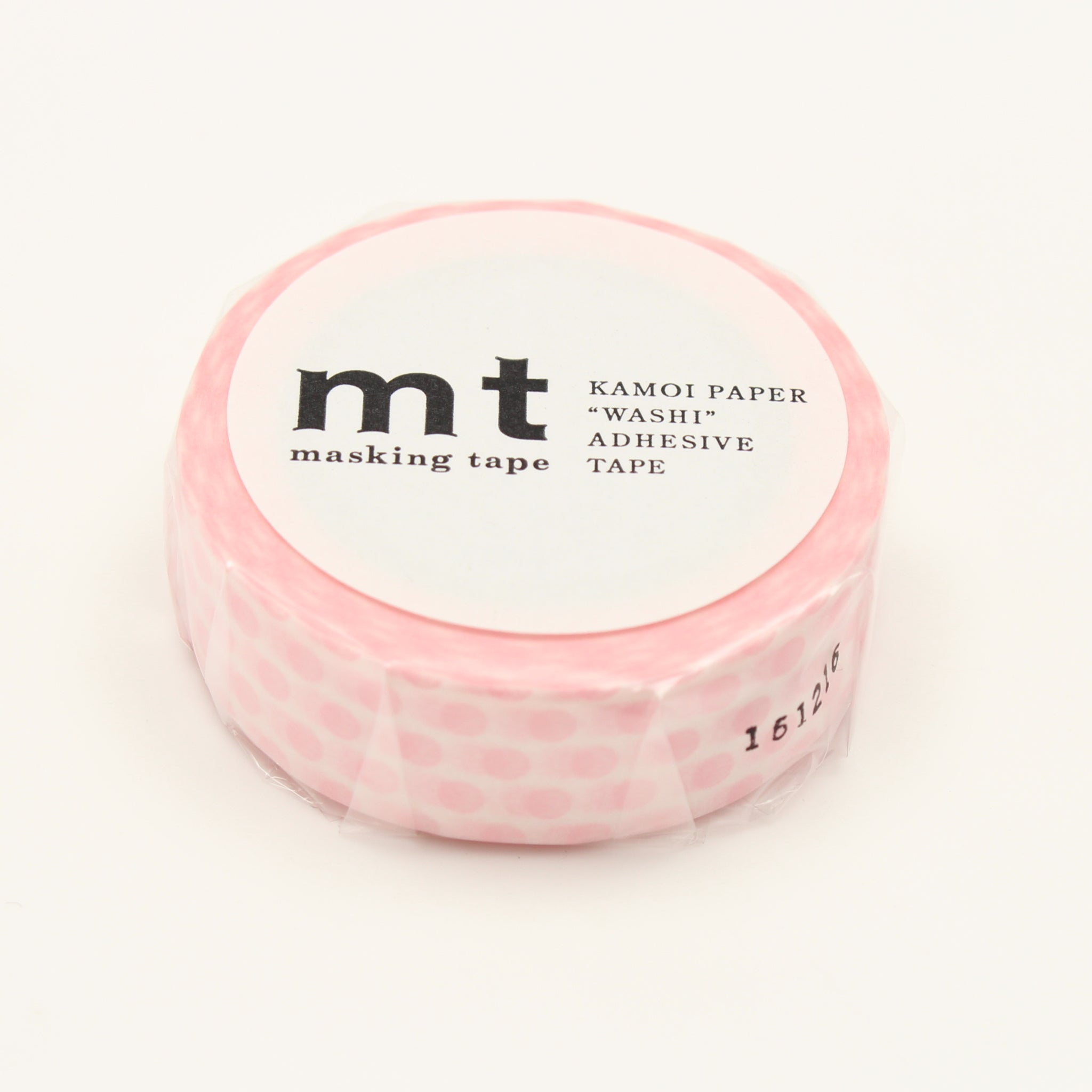 MT Deco Washi Tape Dot Strawberry Milk