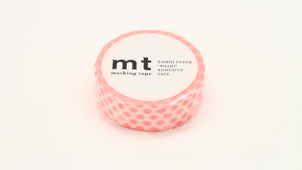 MT Dot Shocking Red washi tape (MT01D358)