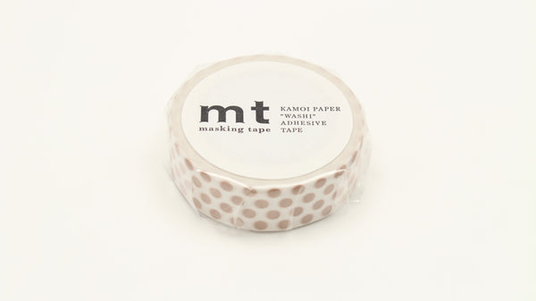 MT Dot Milk Tea washi tape (MT01D364)