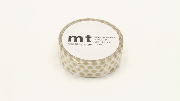 MT Dot Gold washi tape (MT01D365)