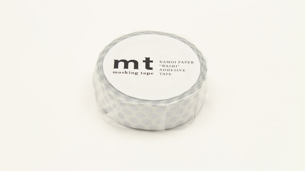 MT Dot Silver washi tape (MT01D366)