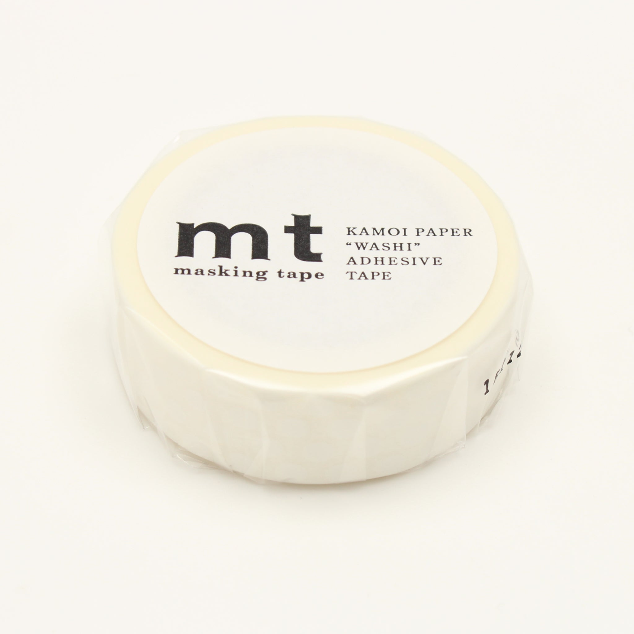 MT Deco Washi Tape Dot White