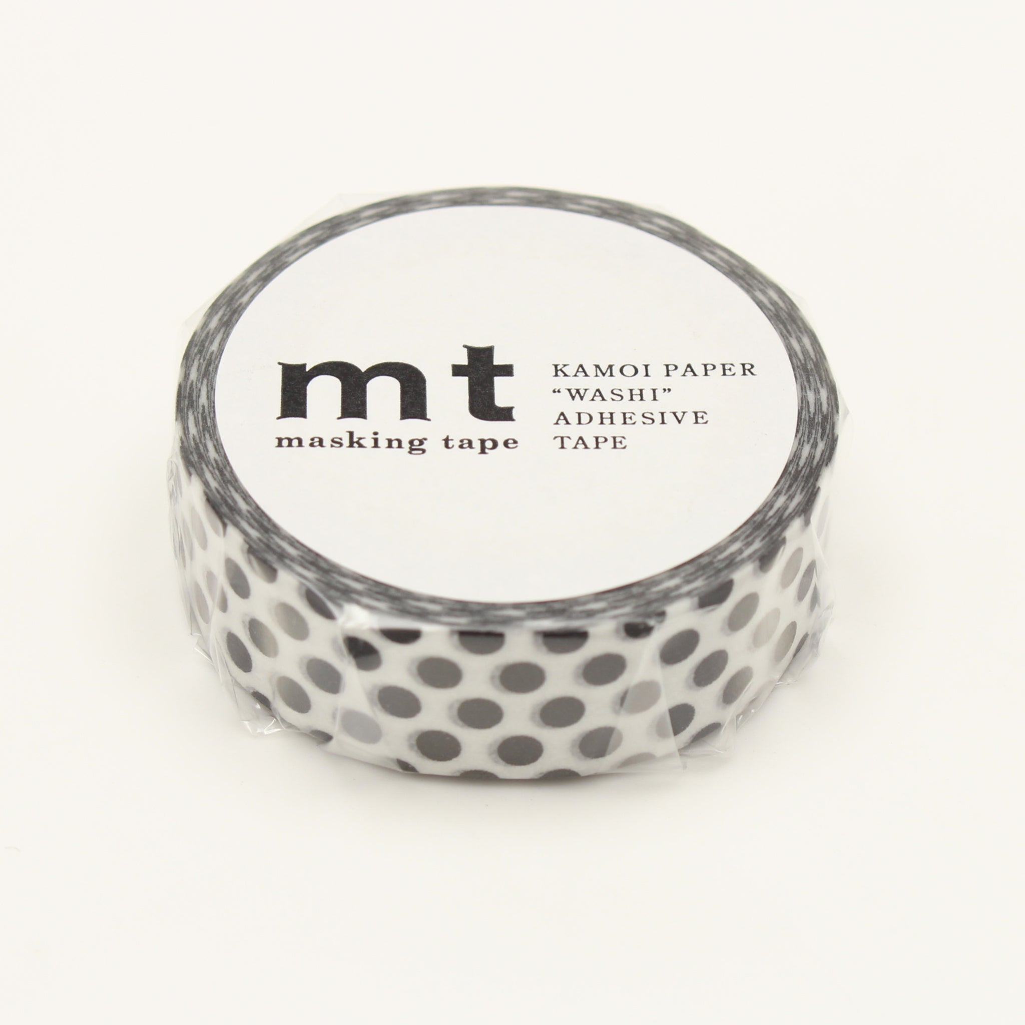MT Deco Washi Tape Dot Black