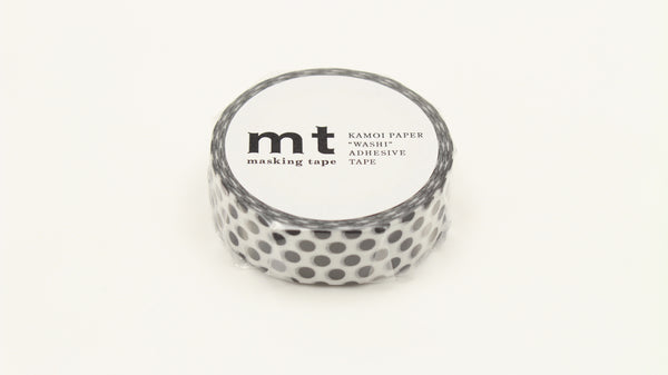 MT Dot Black washi tape (MT01D368)