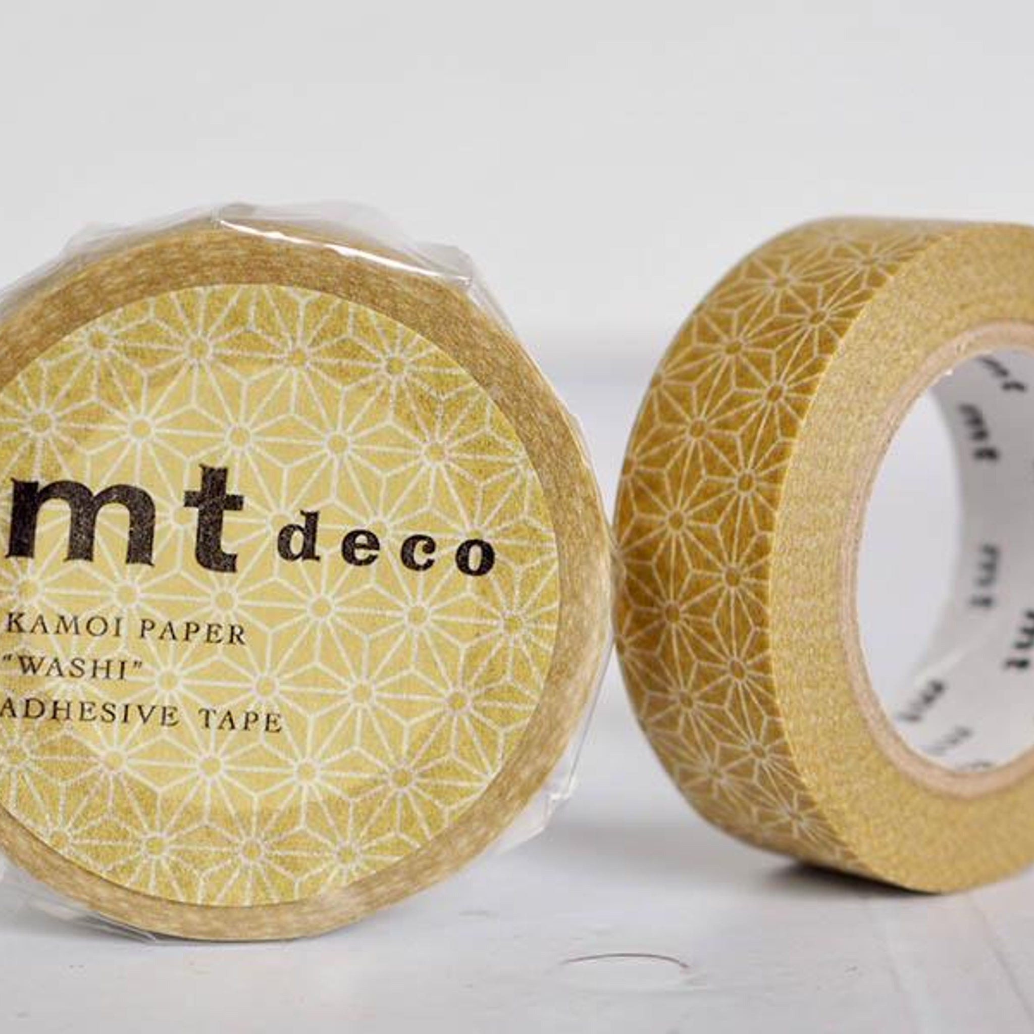 MT Deco Washi Tape Asanoha Karekusa