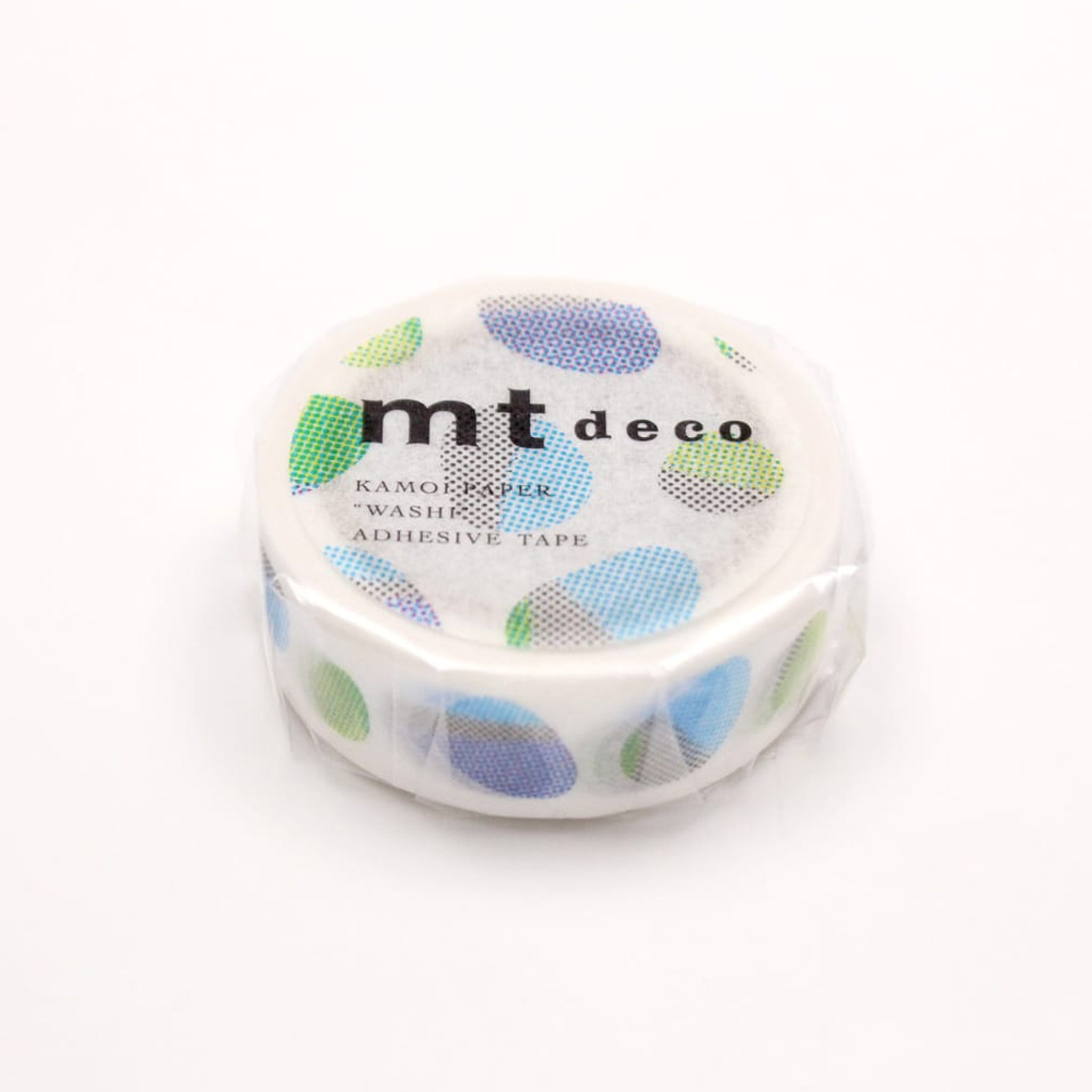 MT Deco Washi Tape Stone Blue