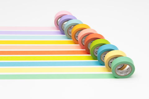 mt Bright Colour washi tape set