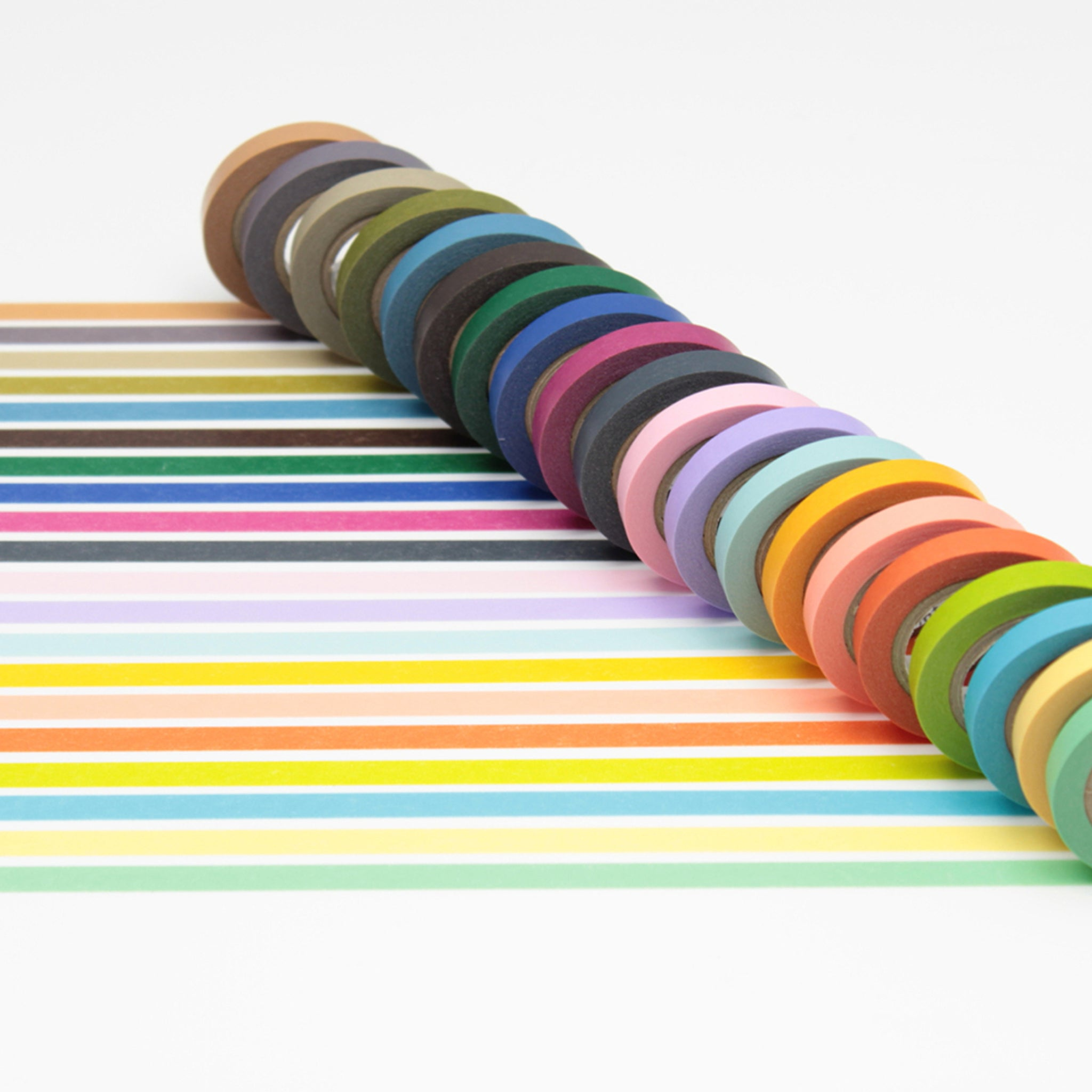 MT 20 Colours Washi Tape Set
