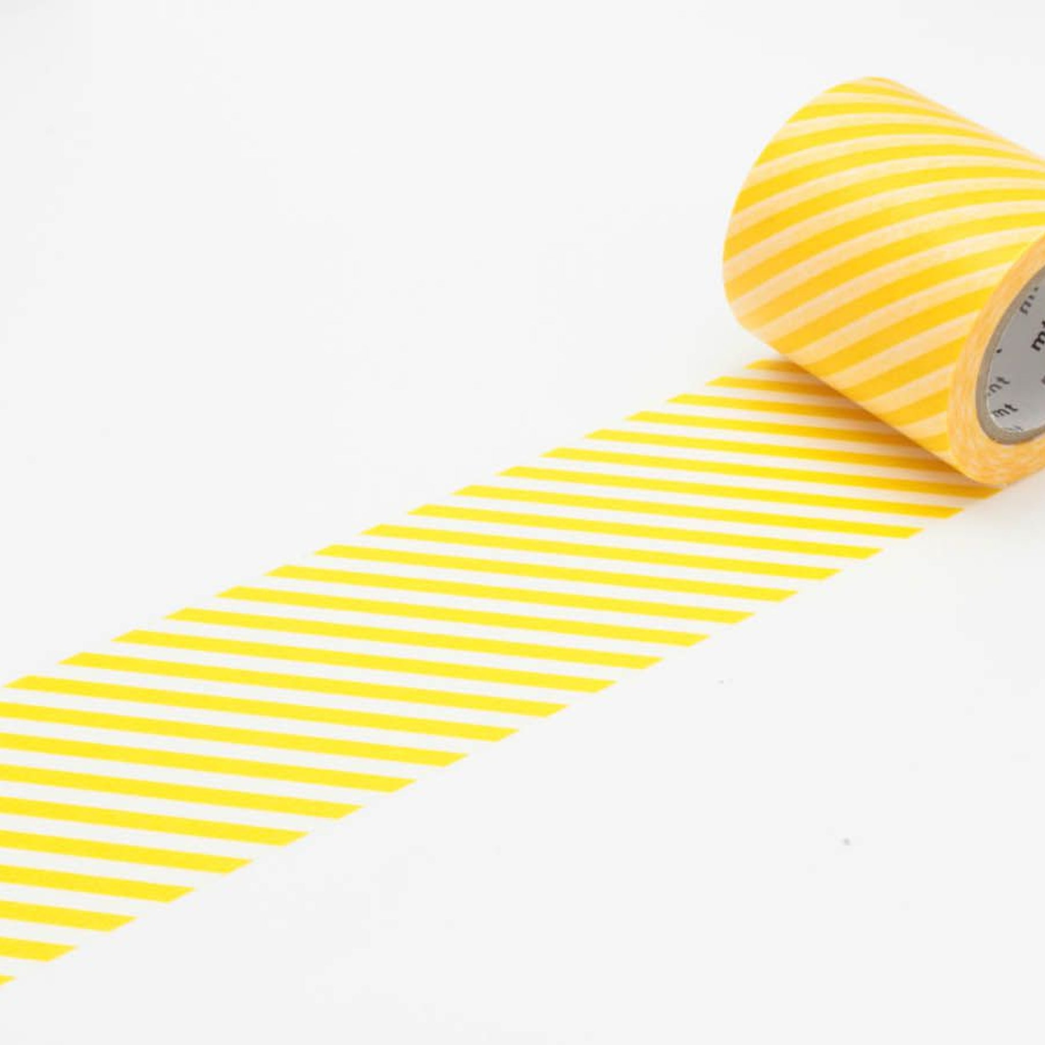(DC) MT Casa 50mm Washi Tape Stripe Yellow